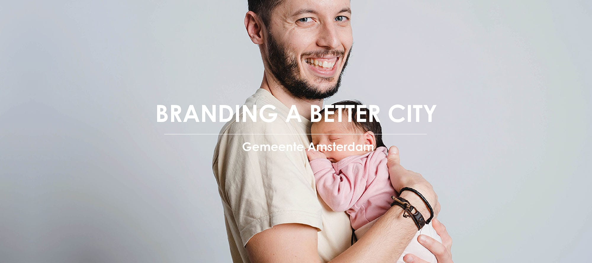 Het werk van Branding A Better World voor Gemeente Amsterdam