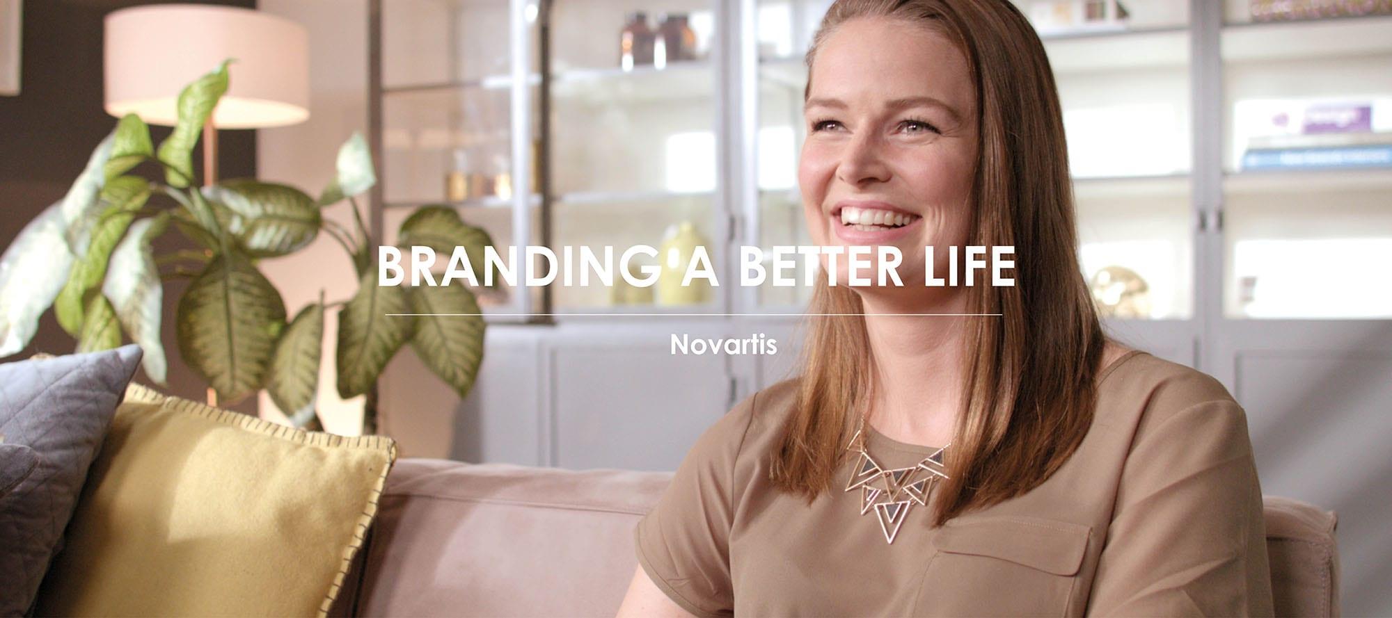 Het werk van Branding A Better World voor Novartis