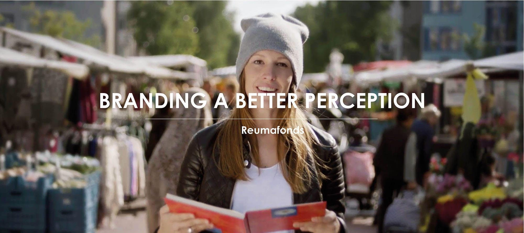 Het werk van Branding A Better World voor Reumafonds