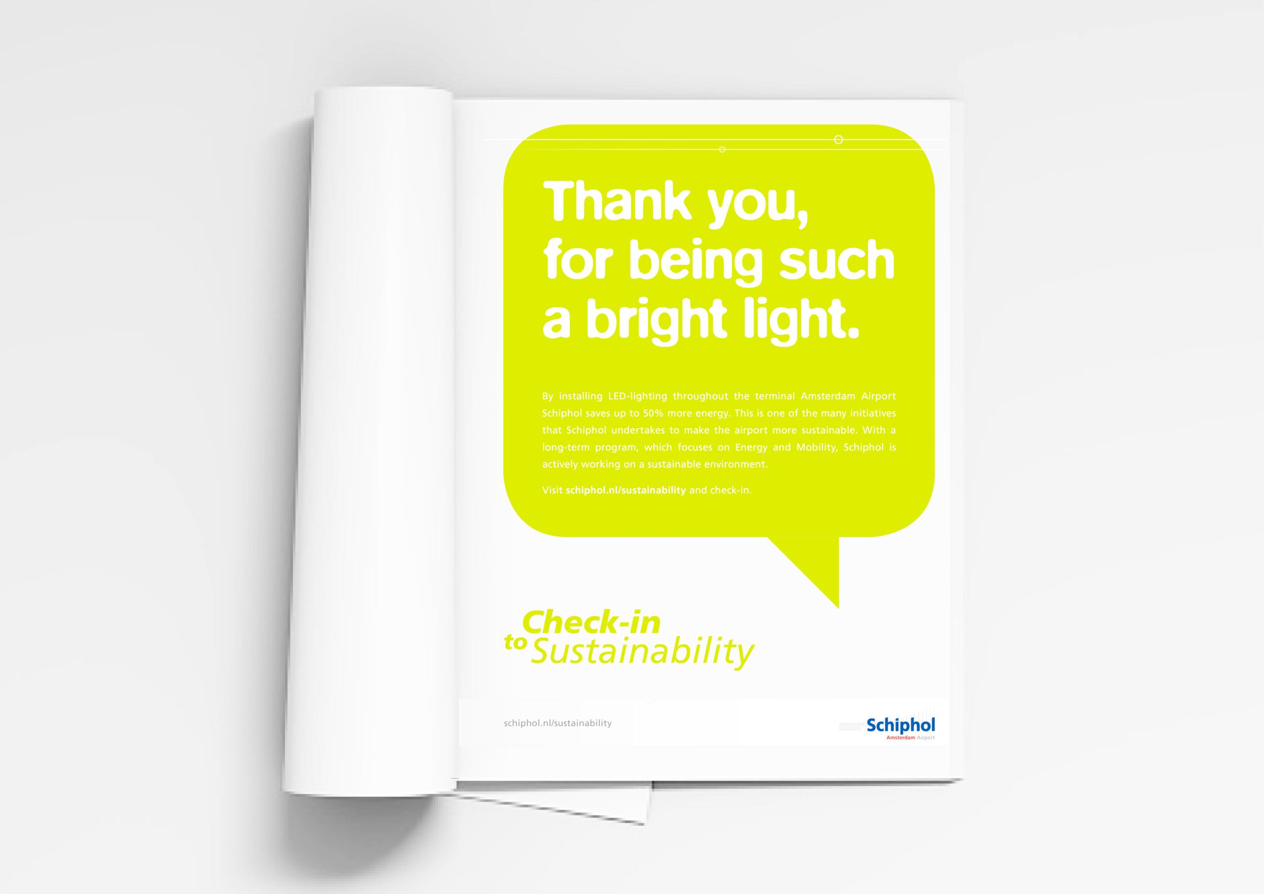 Schiphol - Branding A Better World