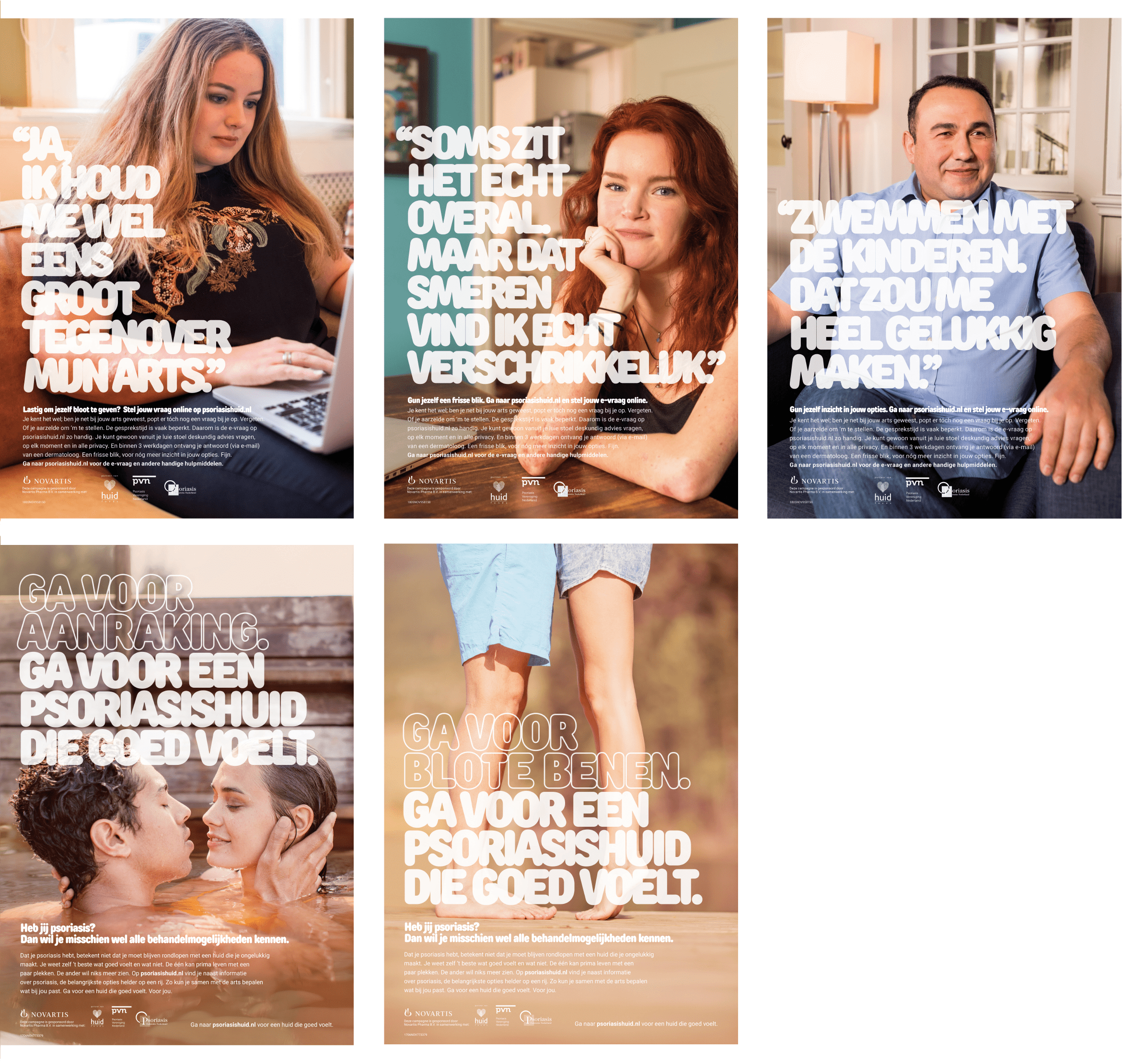 Psoriasis campagne Branding A Better World