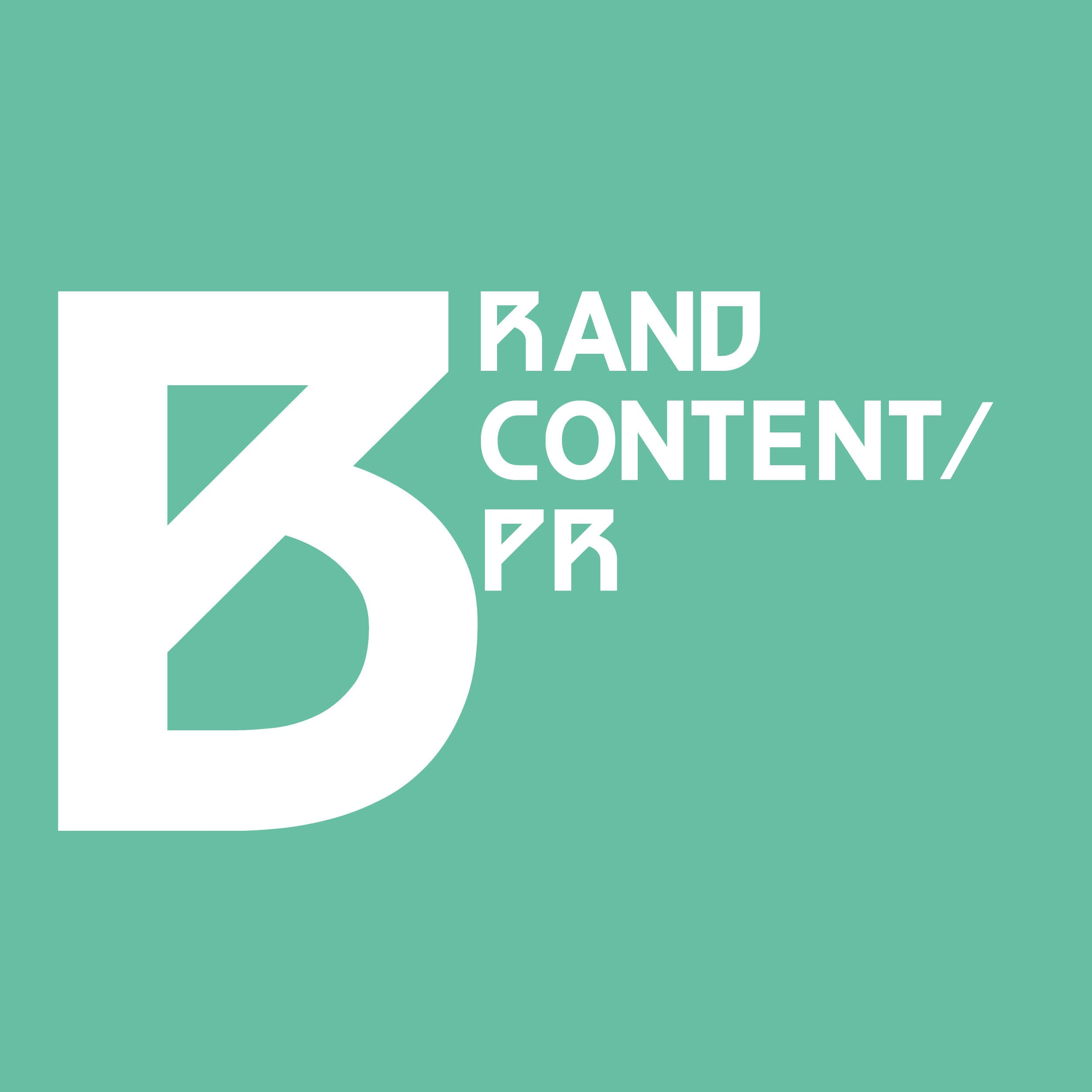 Brand Content & PR - Branding A Better World