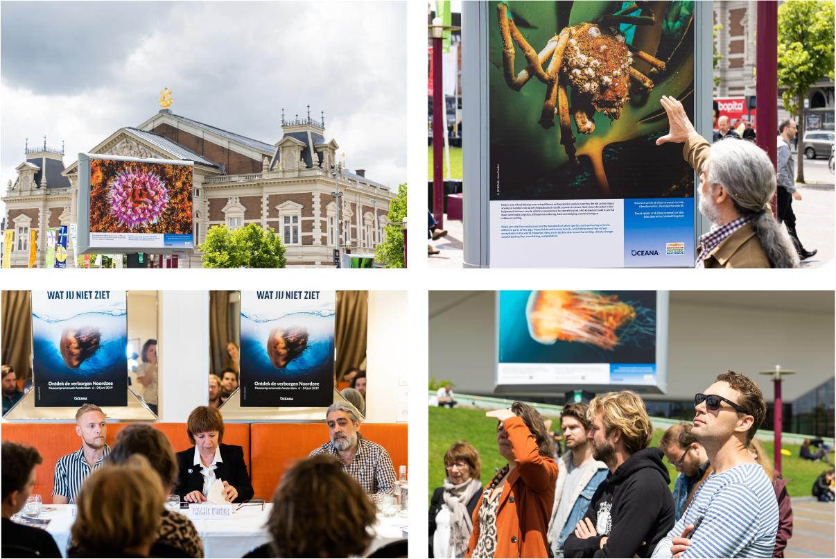 Foto expositie Oceana Museumplein - Branding A Better World